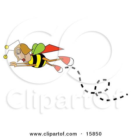 Female Bee In Flight Posters, Art Prints