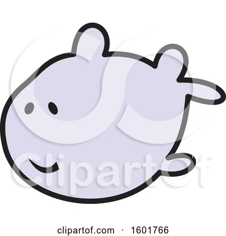 Clipart of a Fish - Royalty Free Vector Illustration by Johnny Sajem