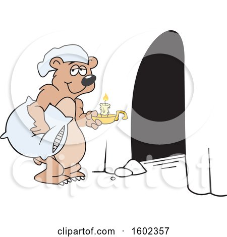 Royalty Free Rf Bear Cave Clipart Illustrations Vector Graphics 1