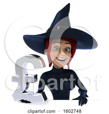 Clipart of a 3d Sexy Blue Witch Holding a Lira, on a White Background - Royalty Free Illustration by Julos