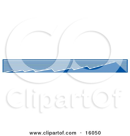 Layers Of Mountains Getting Bigger And Bigger Clipart Illustration by Andy Nortnik