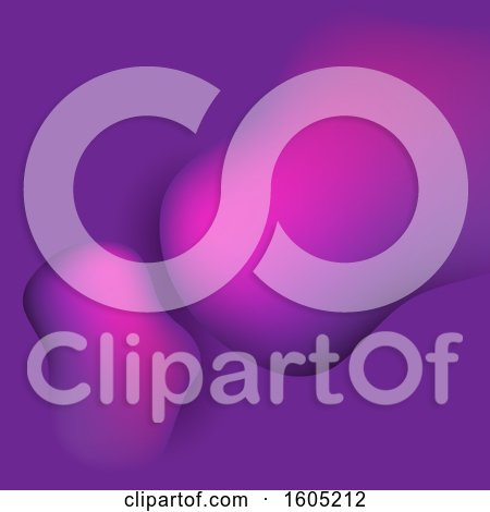 Clipart of a Gradient Purple Abstract Background - Royalty Free Vector Illustration by KJ Pargeter
