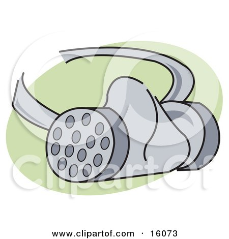 Safety or Gas Mask Clipart Illustration by Andy Nortnik