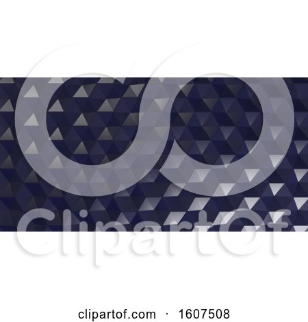 Clipart of a 3d Hexagonal Background - Royalty Free Illustration by KJ Pargeter