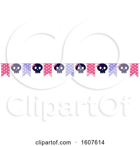 Female Pirate Party Themed Banner Clipart by BNP Design Studio