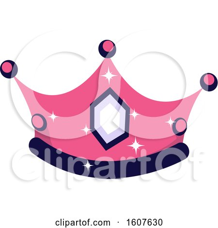 Female Pirate Party Themed Crown Clipart by BNP Design Studio