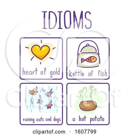 Idioms Elements Samples Illustration by BNP Design Studio