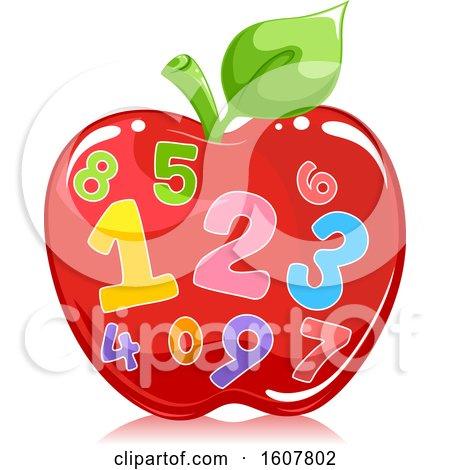 Apple Number Illustration by BNP Design Studio