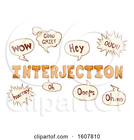 Doodles Interjections Illustration by BNP Design Studio