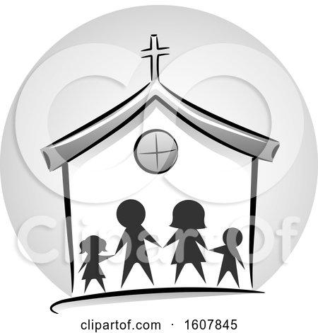 Family Church Icon Illustration by BNP Design Studio