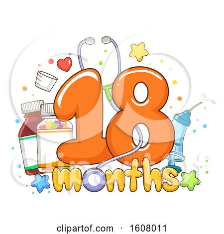 Check up Vitamins Eighteen Months Illustration by BNP Design Studio