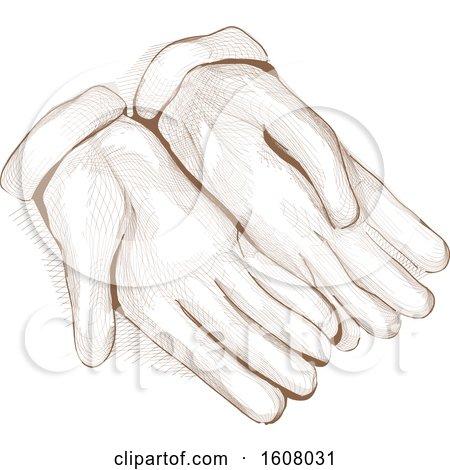 Gloves Sketch Illustration by BNP Design Studio