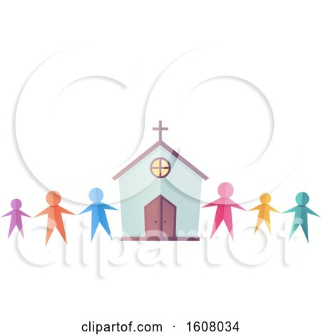 Church Community Illustration by BNP Design Studio