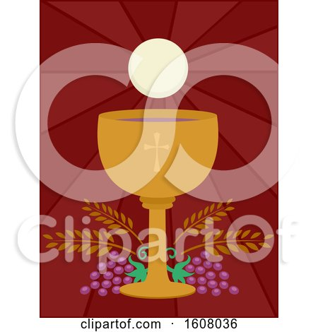 Goblet Wine Eucharist Illustration by BNP Design Studio