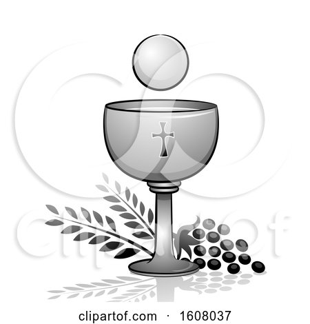 Goblet Wine Eucharist Illustration by BNP Design Studio