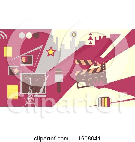 Tv Production Design Illustration by BNP Design Studio