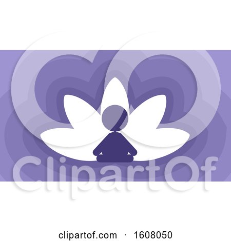 Meditation Lotus Illustration by BNP Design Studio