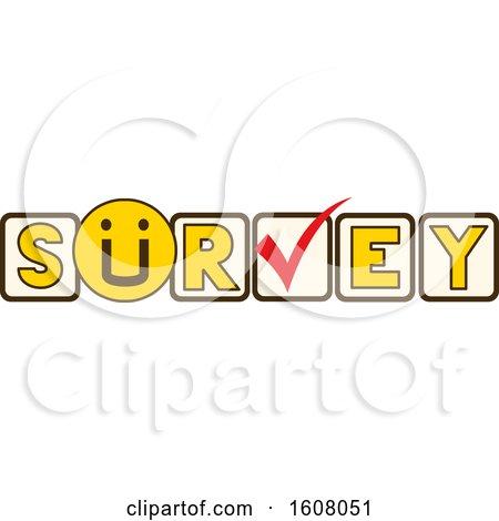 Survey Lettering Illustration by BNP Design Studio