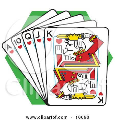 Clip Art Playing Cards Clipart royalty free rf playing card clipart illustrations vector preview clipart