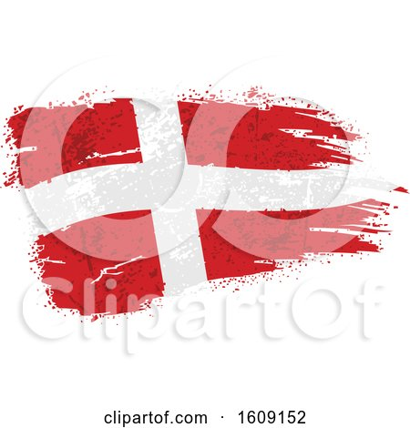 Clipart of a Torn and Distressed Switzerland Flag - Royalty Free Vector Illustration by dero