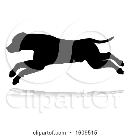 Dog Silhouette Pet Animal by AtStockIllustration