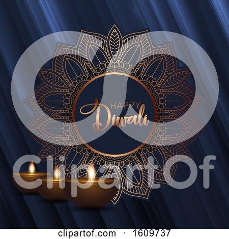 Decorative Diwali Background by KJ Pargeter