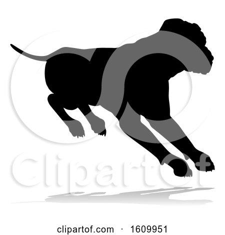 Dog Silhouette Pet Animal by AtStockIllustration