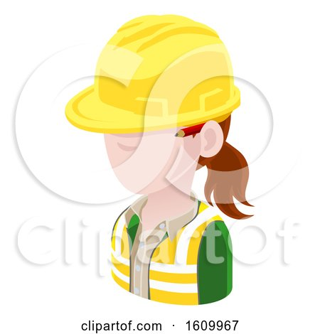 Contractor Avatar People Icon by AtStockIllustration