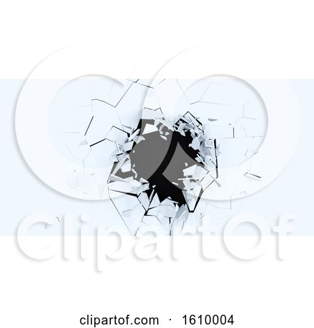 3D Shatter Abstract Wallpaper Background by KJ Pargeter