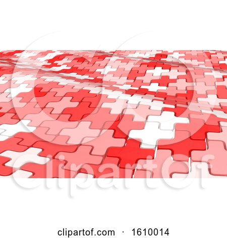 3D Geometric Abstract Background by KJ Pargeter