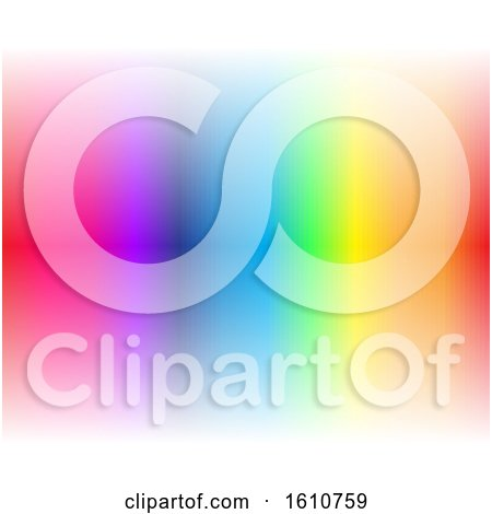 Clipart of a Colorful Background - Royalty Free Vector Illustration by cidepix