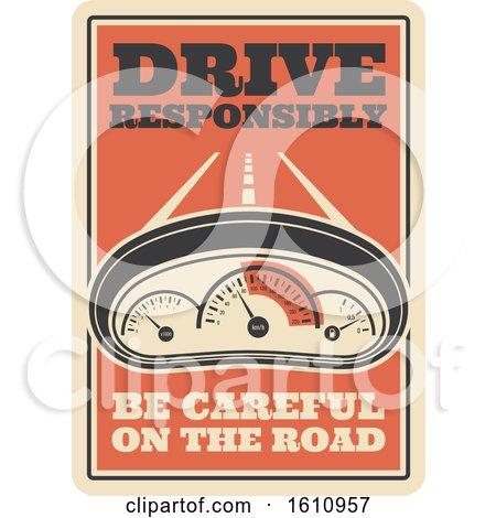 Vintage Style Automotive Sign Posters, Art Prints