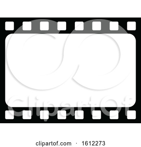 Clipart of a Film Strip - Royalty Free Vector Illustration by Vector Tradition SM