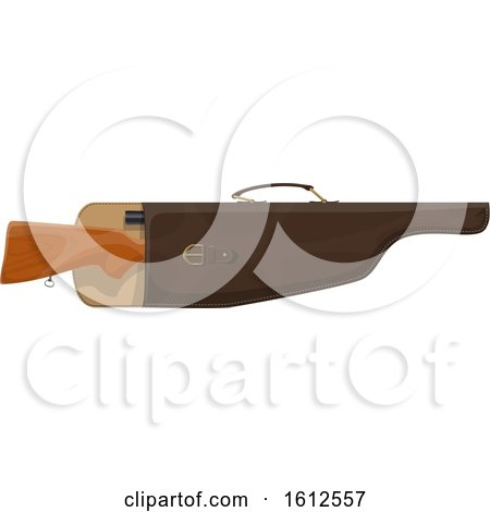 Clipart of a Hunting Knife - Royalty Free Vector Illustration by Vector Tradition SM