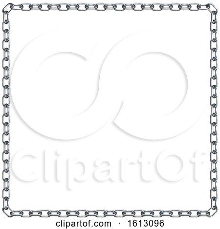 Chain Link Border by AtStockIllustration