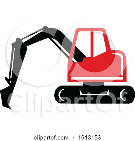 Mechanical Digger or Excavator by patrimonio