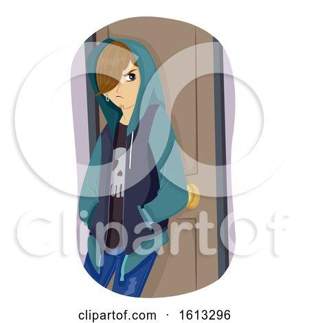 Teen Boy Rebel Illustration by BNP Design Studio