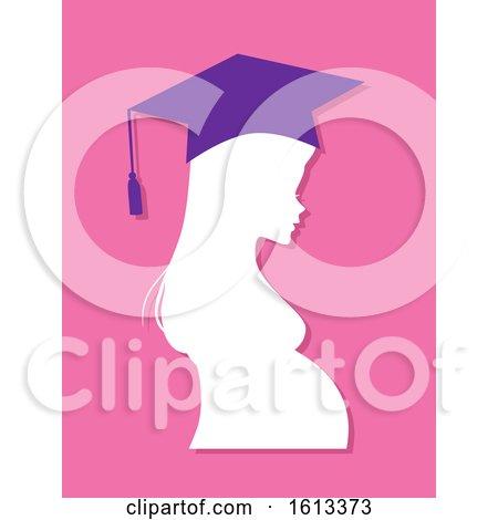 Girl Profile Graduate Pregnant High School by BNP Design Studio