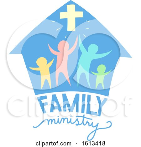 Family Ministry Lettering Illustration by BNP Design Studio