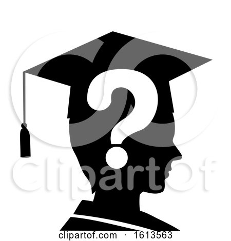 Man Silhouette Drop out Financial Graduating by BNP Design Studio