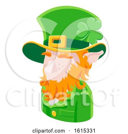 Leprechaun Man Avatar People Icon by AtStockIllustration