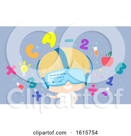 Kid Boy Virtual Learning Illustration by BNP Design Studio