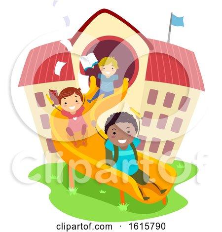 Stickman Kids School Play Study Illustration by BNP Design Studio