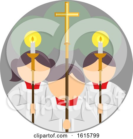 Altar Servers Icon by BNP Design Studio