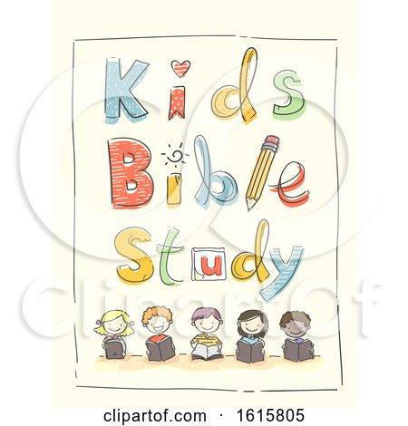 Kids Bible Study Illustration by BNP Design Studio