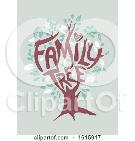 Tree Family Illustration by BNP Design Studio