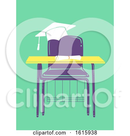 Armchair Graduate Illustration by BNP Design Studio