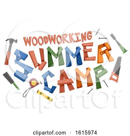 Woodworking Summer Camp Illustration by BNP Design Studio