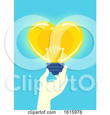 Hand Donation Idea Illustration by BNP Design Studio