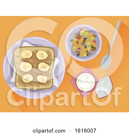 HIIT Pre Work out Meal Illustration by BNP Design Studio